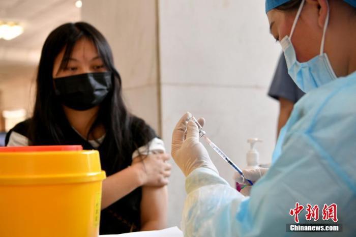 中国31省份已累计报告接种新冠疫苗22030.9万剂次