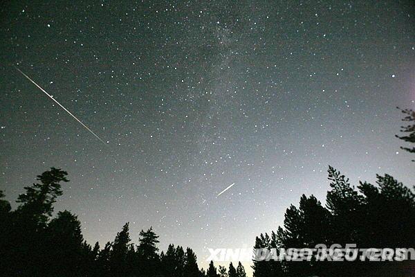 紫金山天文台:英仙座流星雨等四大天象登临8月星空